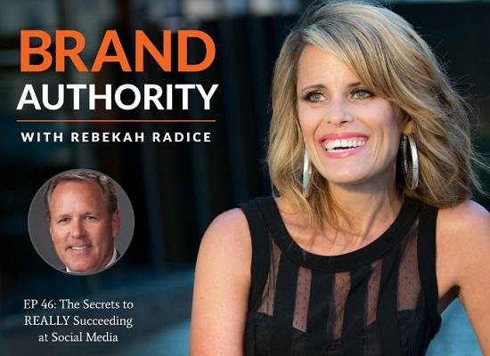 Eine Abbildung von The Brand Authority Podcast.