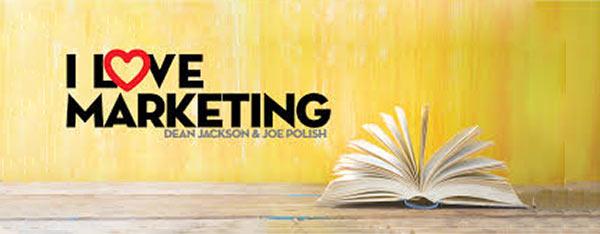 Ein Bild des 'I Love Marketing'-Podcasts.