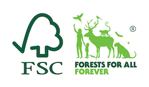The logo of FSC Denmark.