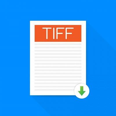 Ein Dateisymbol des TIFF-Bildformats.