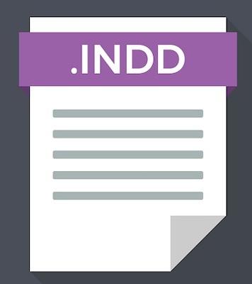 Das Dateisymbol für das Indesign-Bildformat.