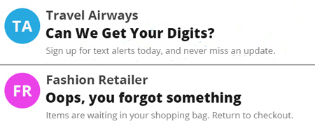 Playful email subject lines.