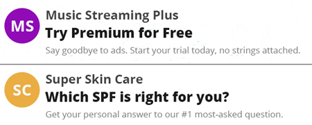 Email subject lines showing value.