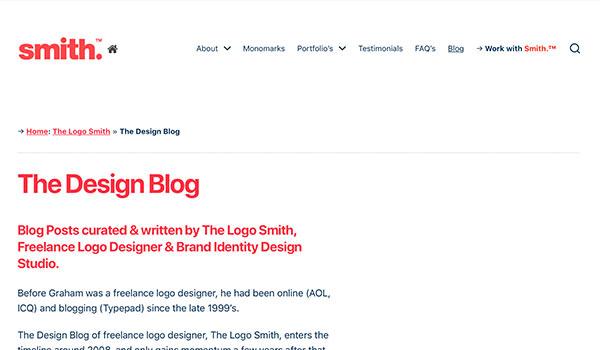 Der Blog von Logo Smith.