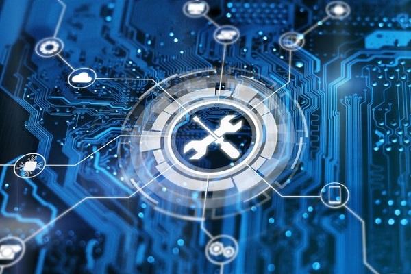 Eine digitale elektronische Plattform.