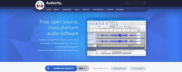 Audacity bietet Ihnen alle Audiowerkzeuge, die Sie jemals brauchen werden.