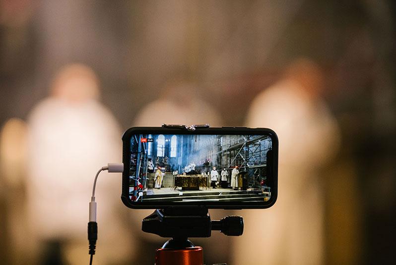 erzbistum bamberg smartphone video