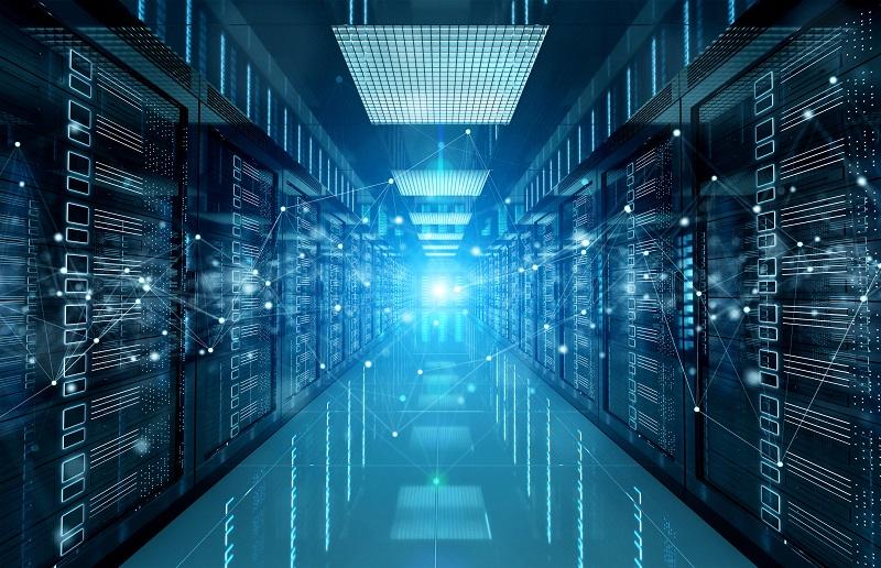 A data server.
