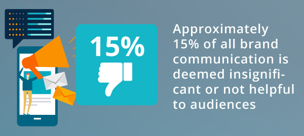An infographic about audiences feeling their voices are unheard.
