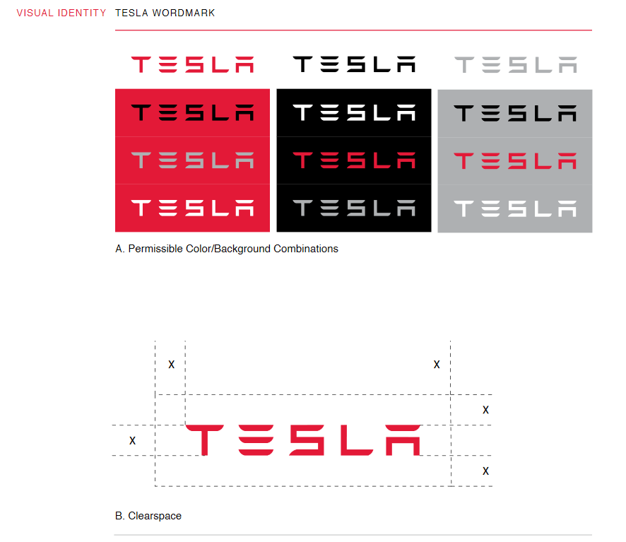 The Tesla style guide.