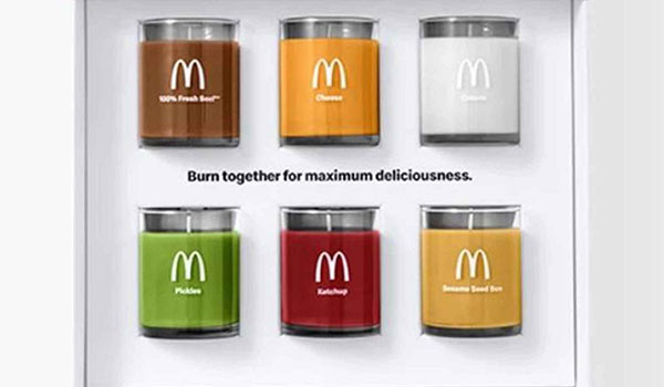 The McDonald's candle campaign.