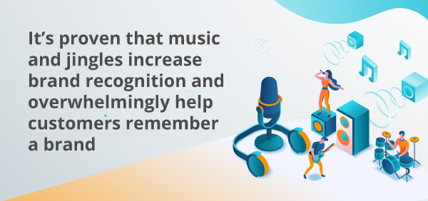 An infographic about music and sounds.