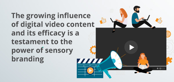 An infographic about digital video content.