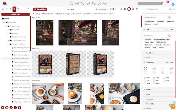 Kodiak Cakes Canto folders and filters