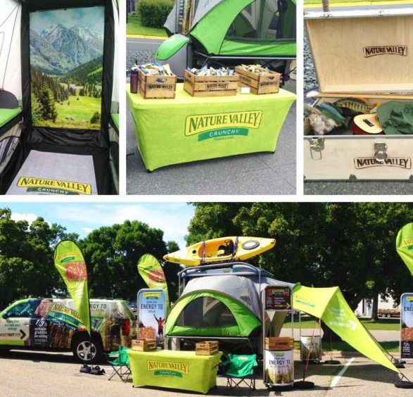 Nature Valley's live events.