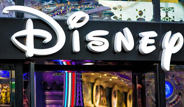 Ein Ladengeschäft von Disney.