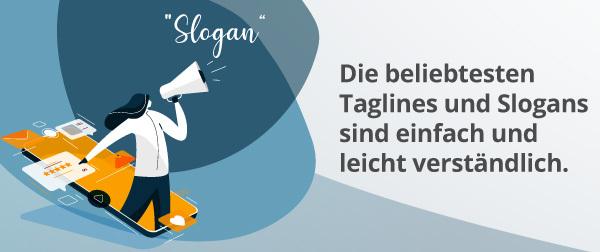 Eine Infografik zu Slogans.