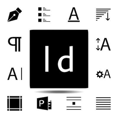 Das Dateisymbol für das InDesign Bildformat.