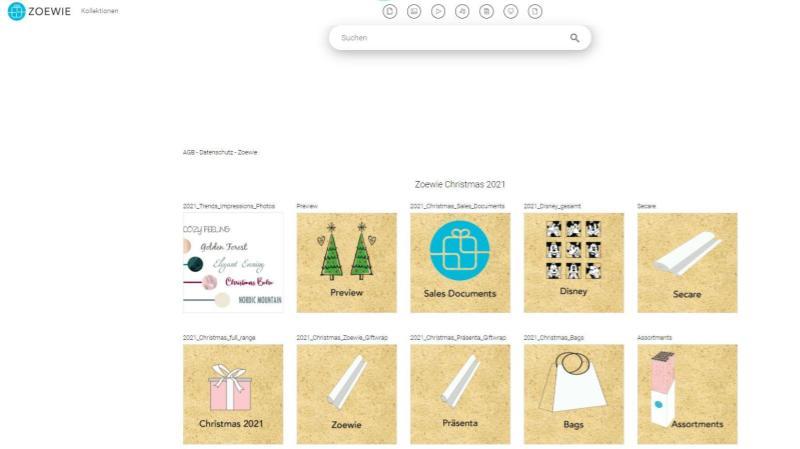 Zoewie Portal Screenshot
