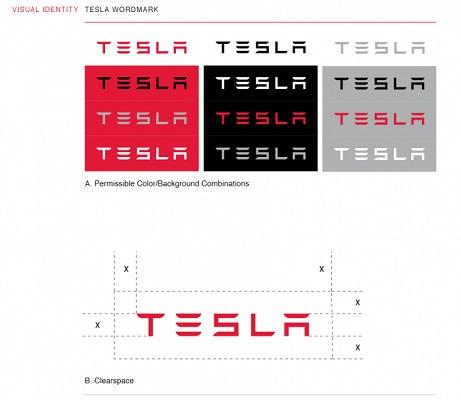 Der Tesla Styleguide.