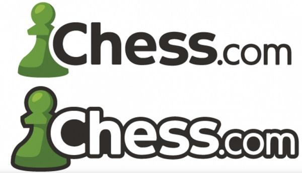 Das Logo von Chess.com.