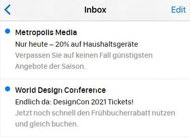Beispiele für E-Mail-Betreffzeilen, die Dringlichkeit vermitteln.