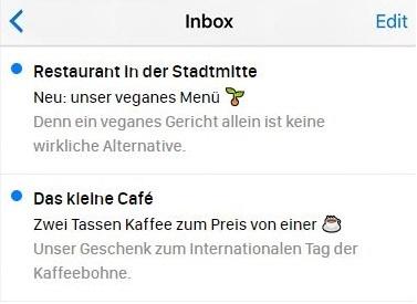 E-Mail-Betreffzeilen, die Emojis verwenden.