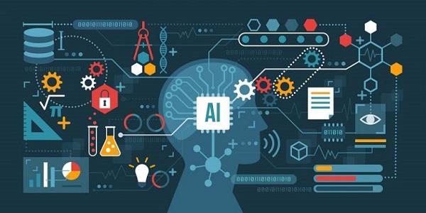 Eine Illustration zum Thema künstliche Intelligenz.