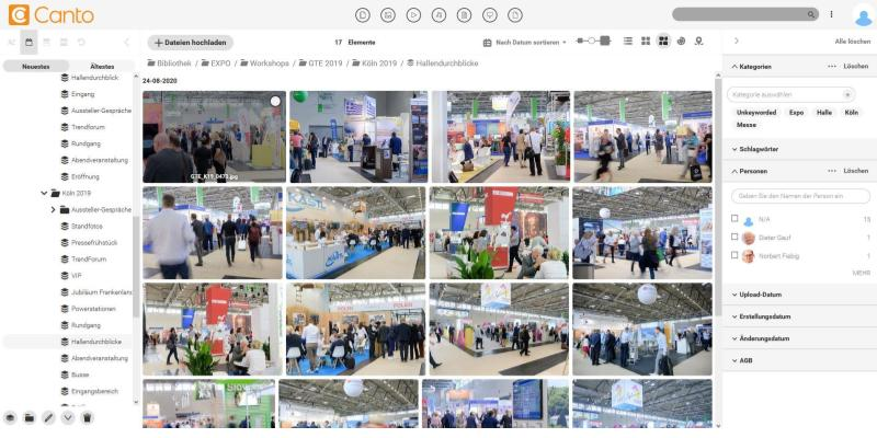 RDA Expo GmbH Canto Screenshot II