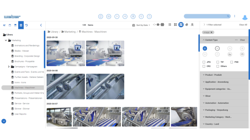 Weber Maschinenbau ScreenshotII