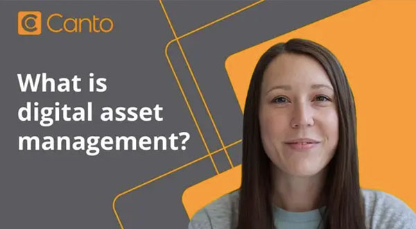 Tumbnail for Canto video about digital asset managment.