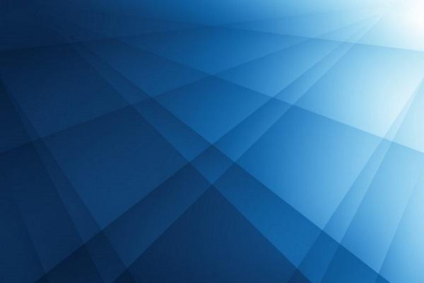 Ein blaues Muster.