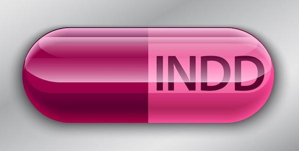 Das Dateisymbol für das INDD-Format.