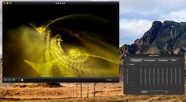 Der VLC Media Player.